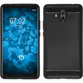 Silicone Case Mate 10 Ultimate black Case